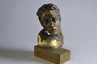metal sculpture man