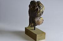 modern art metal bronze sculpture