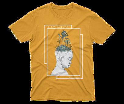 I am nature - Short-Sleeve Unisex T-Shirt