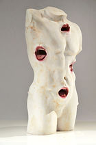 naked body sculpture