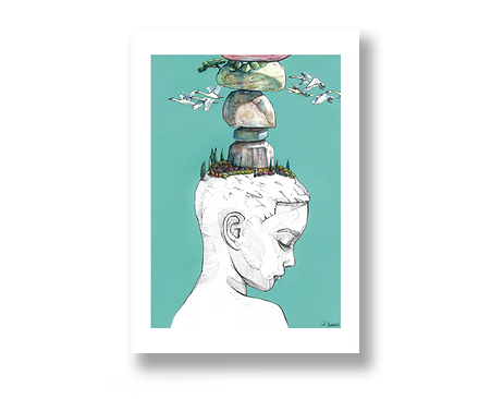 Bold Dreamer - Art Print