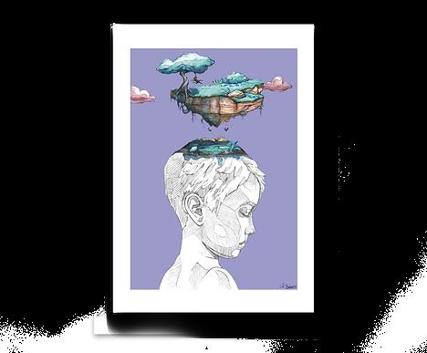 Brave Believer - Art Print
