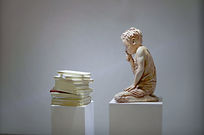 CHILD AND BOOKS