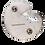 "Thumbnail: MASSIVE 3"" Rhacodactylus leachianus Hard Enamel Pin"