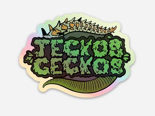 Jecko's Geckos Stickers