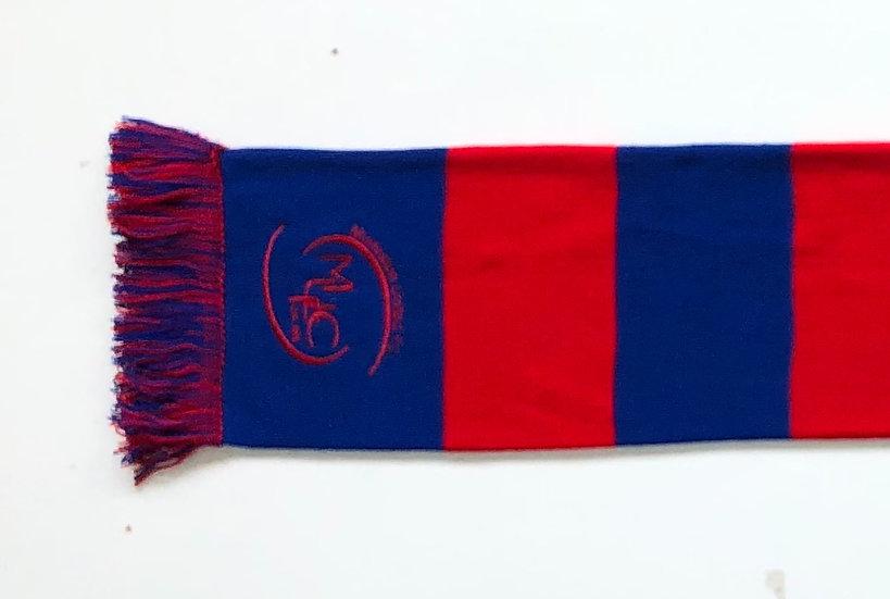 Murieston United Red & Blue Bar Scarf