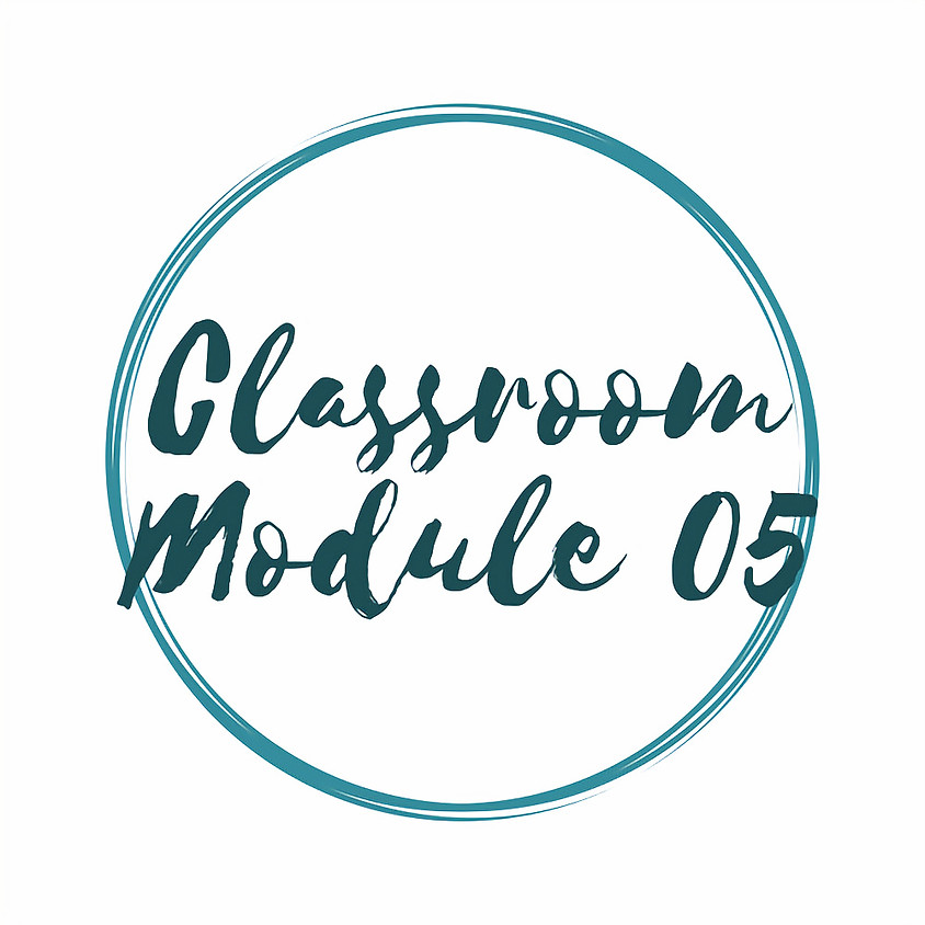 Classroom Module 5 - Planning & Organisation (2 sessions)