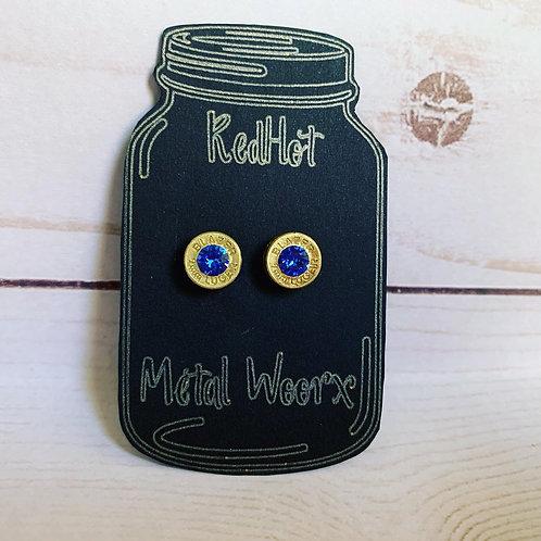.40cal Bullet Casing Earrings