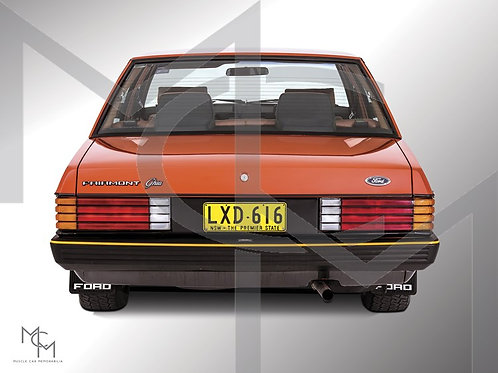 1982 Ford XE ESP - Chestnut Brown