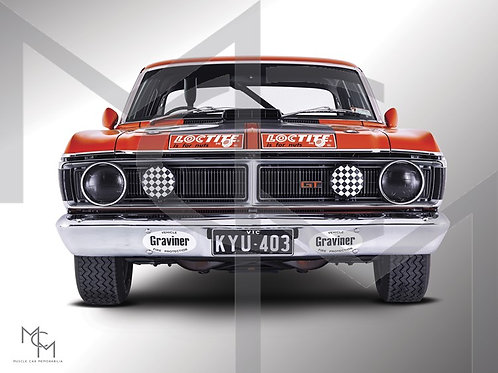 1971 Ford XY GT HO PH III - Murray Carter