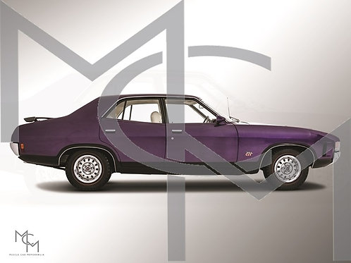 1973 Ford XA GT RPO - Wild Violet