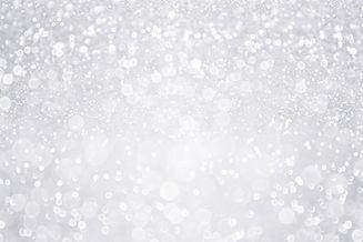 Silver white glitter sparkle confetti ba