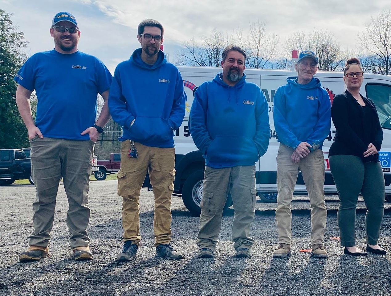 Griffin Air HVAC and Plumbing team