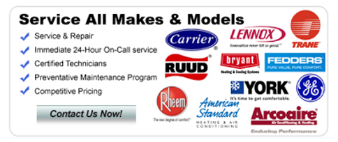 We service all brands at Griffin Air