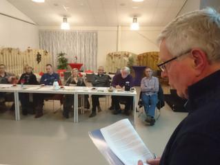 "Verslag Algemene Ledenvergadering coöperatie Pekela Duurzaam, maandag  22 februari 2016 ""de Binding"""