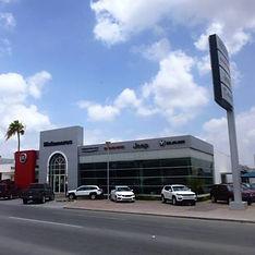 Agencia Chrysler, Matamoros, Tamaulipas.