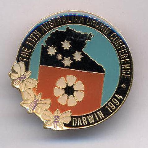 13th Australian Orchid Conference, Darwin, Australia, 1994   $10