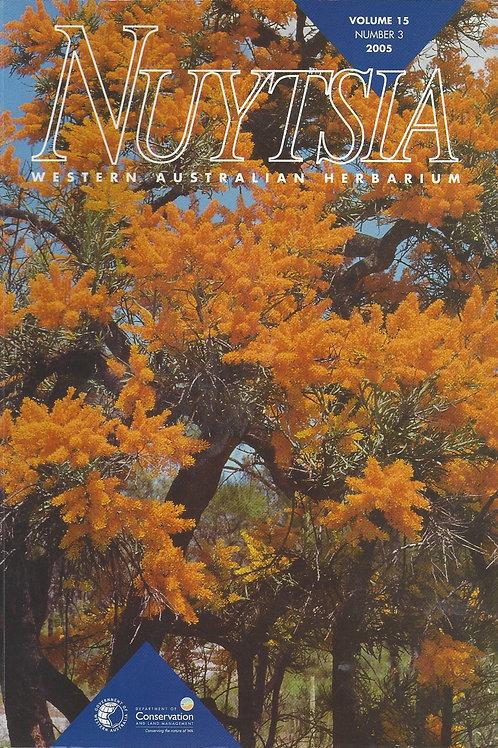 Nuytsia Volume 15 (no: 3) - Western Australian Herbarium