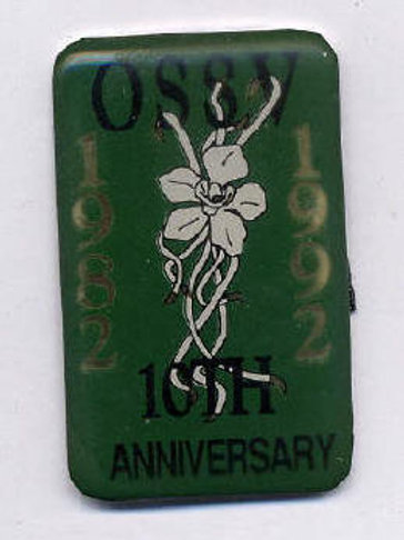 Orchid Species Society of Vic, Aust, 10th Ann 1982 - 1992  $10