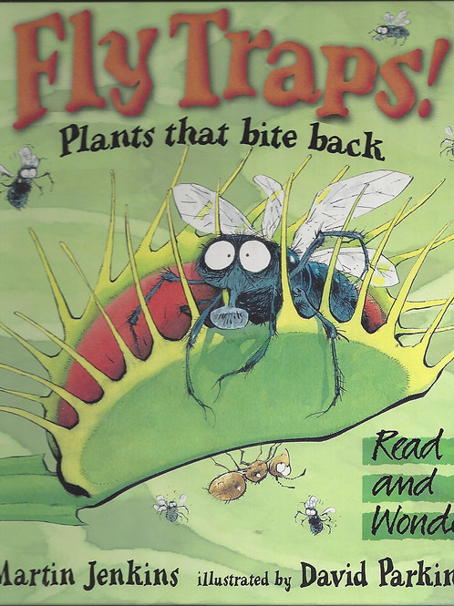Fly Traps! Plants that bite back - Jenkins - soft cover