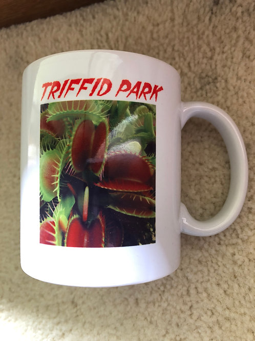 Coffee Cup - venus fly trap and water lily