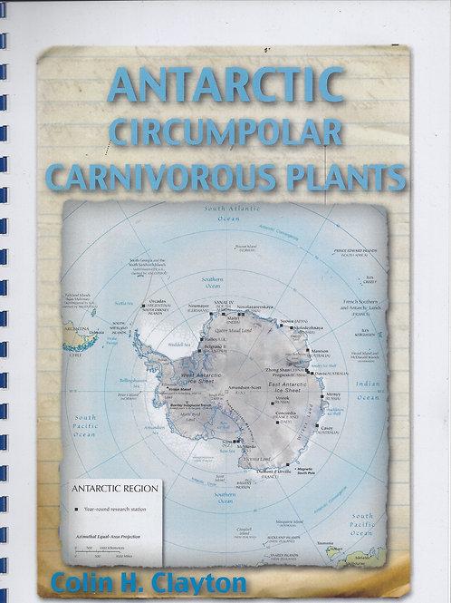 Antarctic Circumpolar Carnivorous Plants - Clayton