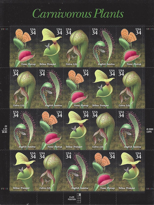 Stamps - Carnivorous Plants