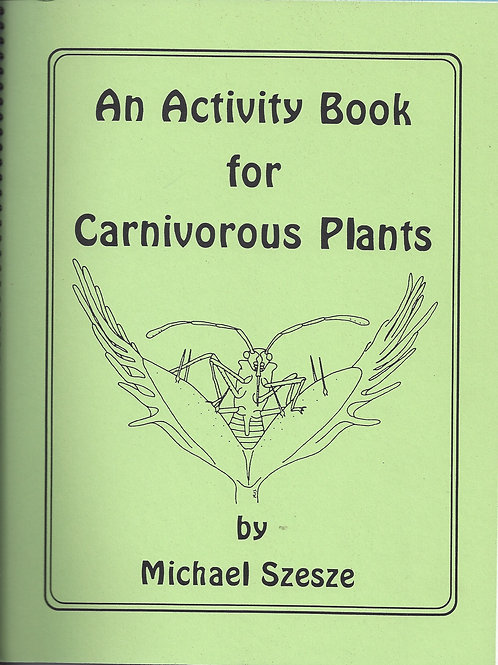 An Activity Book for Carnivorous Plants - Szesze