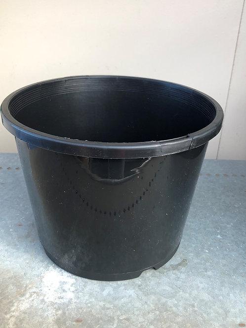 200mm Plastic Pot Black   (Fits 200mm Floating Ring)