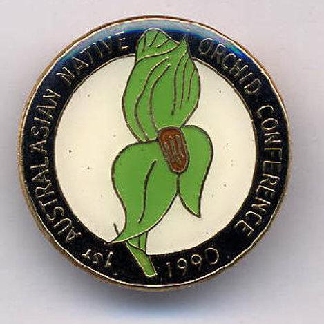 1st Australasian Native Orchid Conference, Australia, 1990    $8