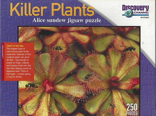 Killer Plants - Alice Sundew Jigsaw Puzzle