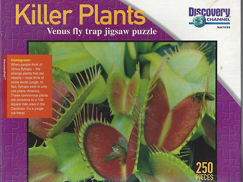 Killer Plants - Venus Fly Trap Jigsaw Puzzle