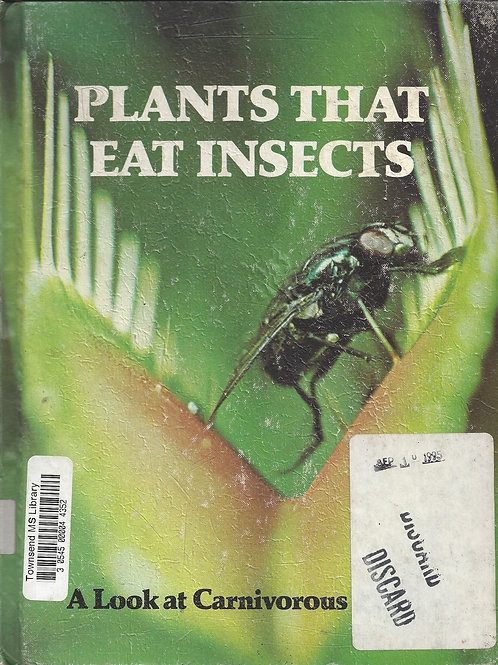 Plants That Eat Insects - Dean