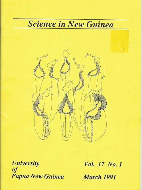 Science In New Guinea - Nepenthes- Uni of PNG