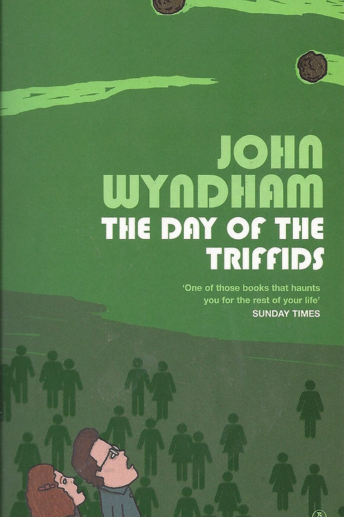 The Day Of The Triffids - Wyndham - 1954 green cover