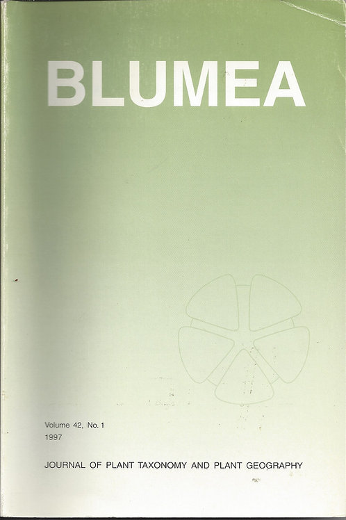 Blumea - Revision of Nepenthes - Jebb, Cheek