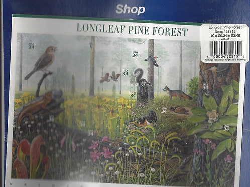 Stamps - Carnivorous Plants in Longleaf Pine Forest