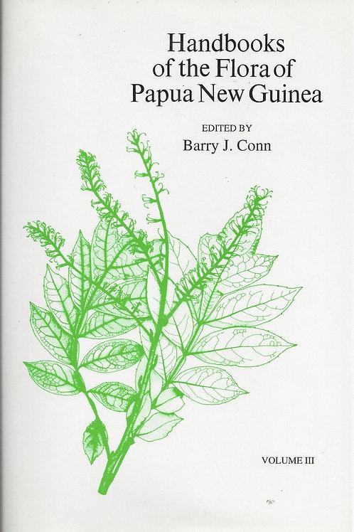 Handbook of the Flora Of Papua New Guinea, Volume 111 - Conn