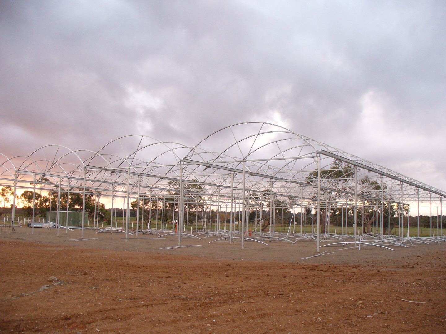 With the domed roof on, the nursery is really starting to take shape.