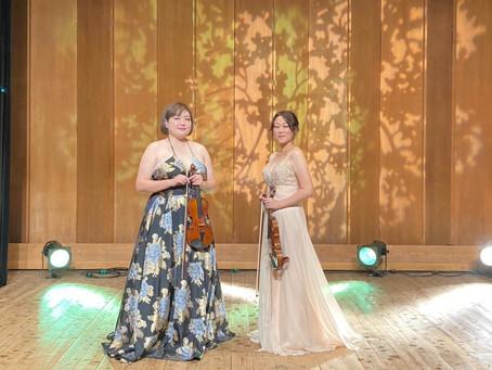 【演奏動画】小田原市民文化会館でのミニコンサート動画が公開されました