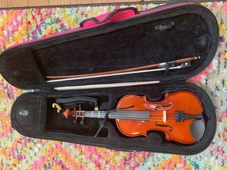 【 早速レンタルお申し込みいただきました!】バイオリンレンタル新ルールについて♪