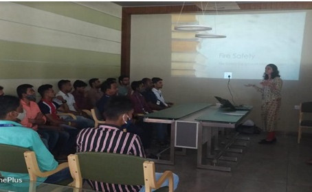 Corporate Training on Fire Equipment Management