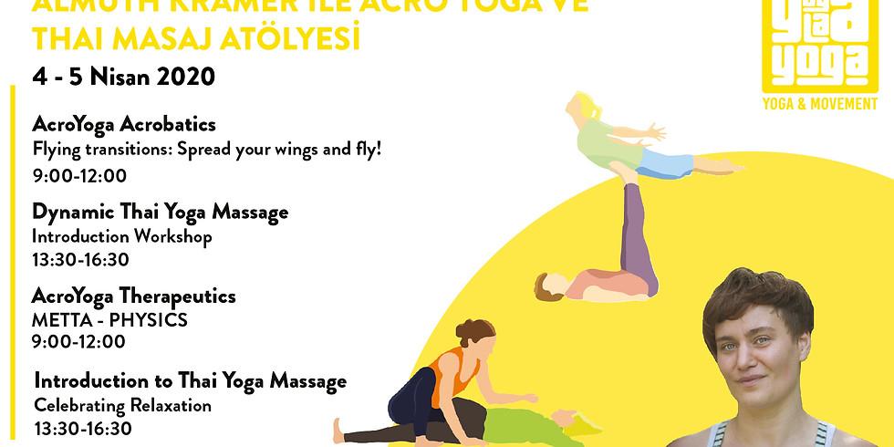 Thai Yoga Massage & AcroYoga Workshops with Almuth Kramer