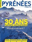 Couverture Pyrénées Magazine 30 ans marque