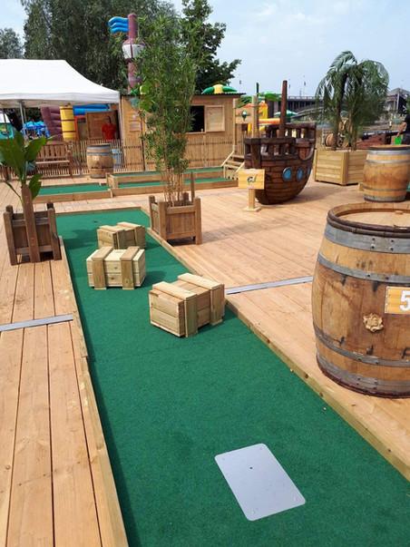 fun for kids golf pirate Ile Robinson