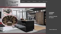 Site web Cuisines Mawet