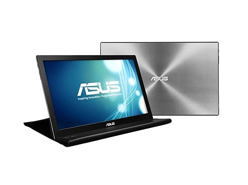 "Monitor ASUS Portátil MB168B LED 15.6"", USB 3.0, Negro/Plata - Incluye SmartCase"