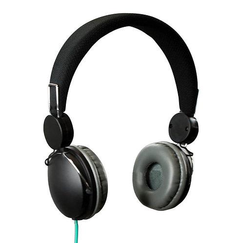 STF Mobile Audífonos Resonanz, Alámbrico, 3.5mm, Negro
