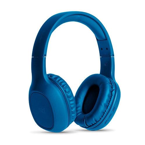 STF Mobile Audífonos con Micrófono Echo, Bluetooth, Inalámbrico, Azul