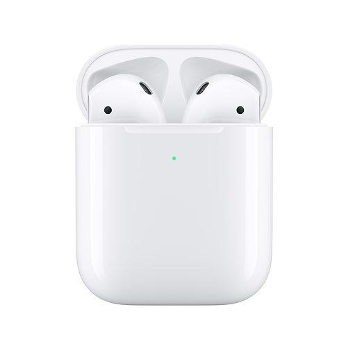 Apple Audífonos Intrauriculares AirPods (2da. Generación), Inalámbrico, Bluetoot